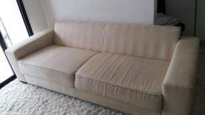 Higienização de sofá de tecido