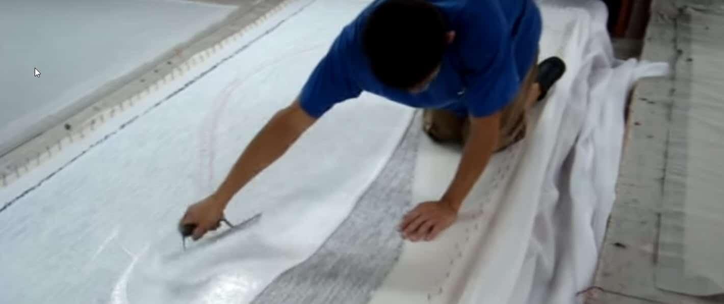 emborrachamento de tapete