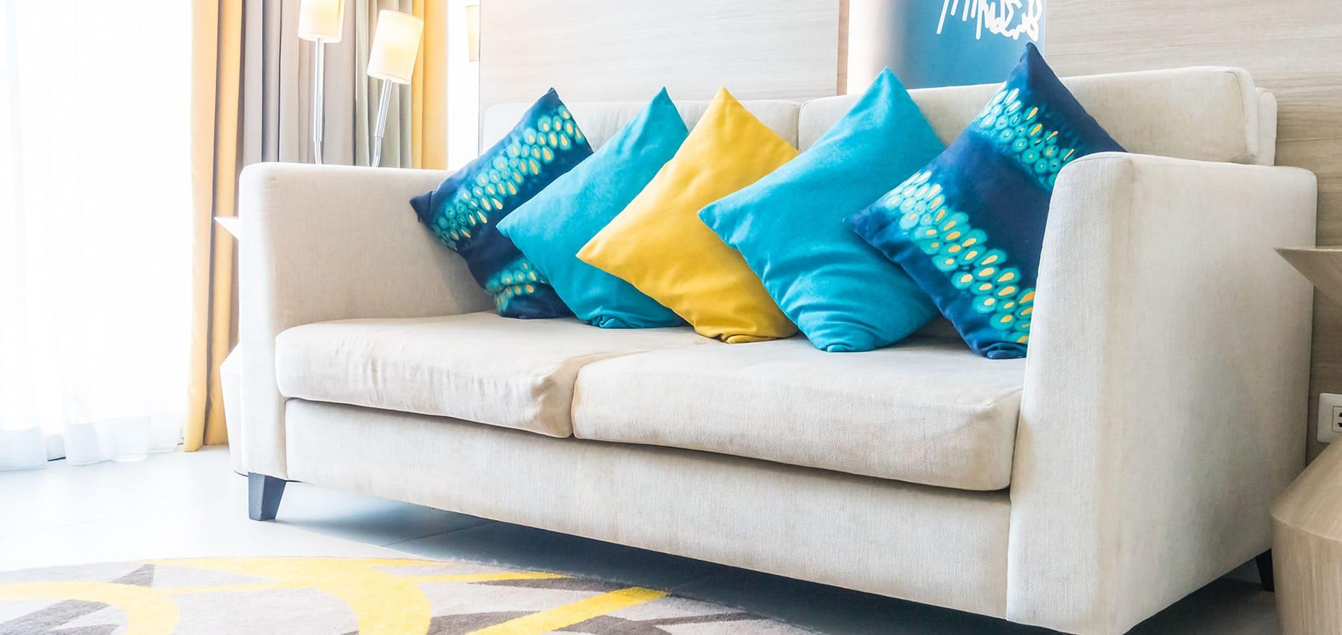 Limpeza de sofás em tecido