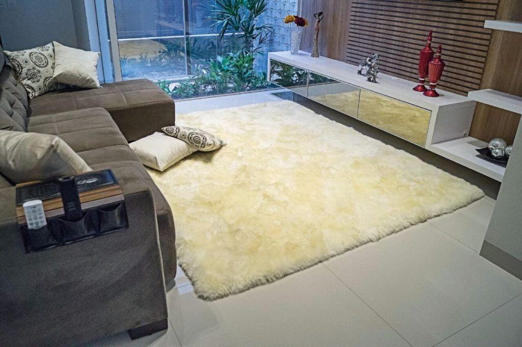Lavagem de Tapete de lã