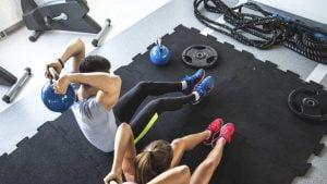 Limpeza de academias de ginástica
