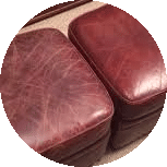 Limpeza de sofá de couro
