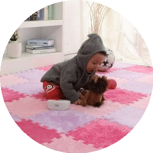 limpeza tapete bebe